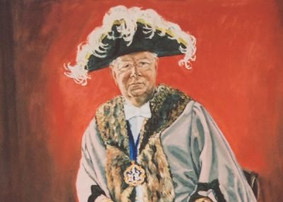 Portrait of Patrick Burgess QC